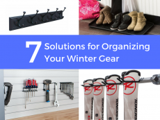 7 Solutions for Organizing Your Winter Gear