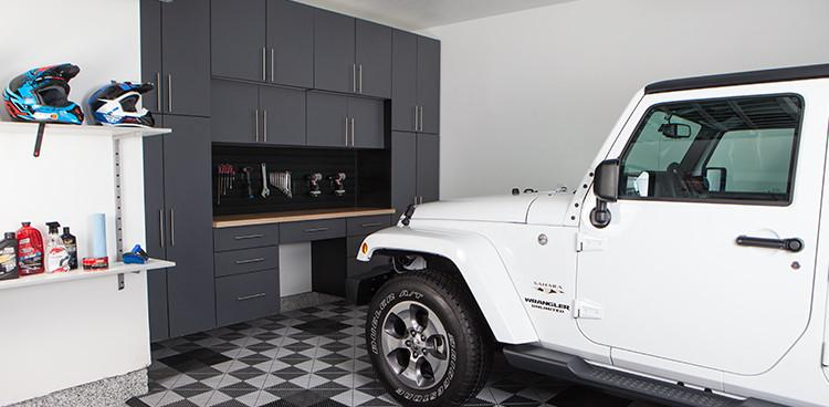slate garage cabinet systems