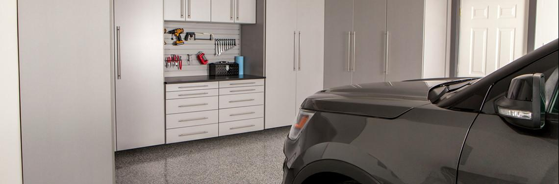 silver frost garage cabinets