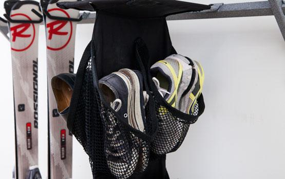 garage shoe organizer