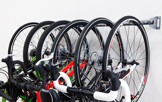 Genial 6 Bike Storage Rack