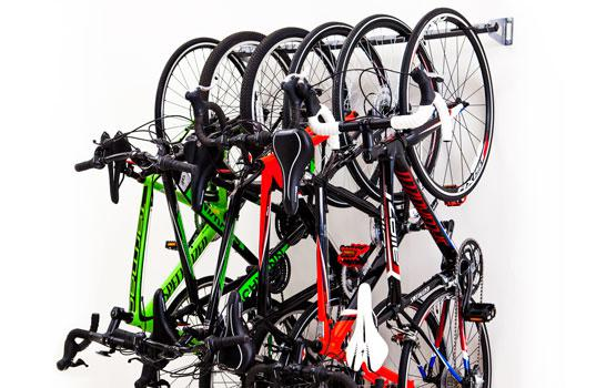 Charmant 6 Bike Storage Rack